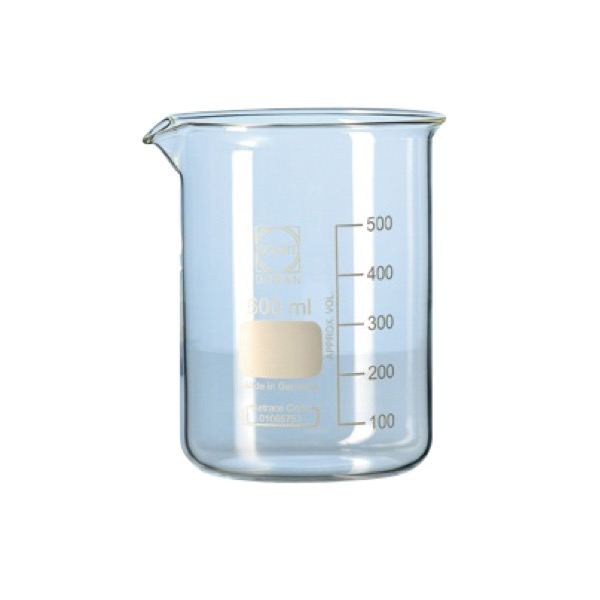 Beaker low form 250 ml Duran
