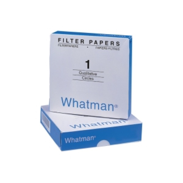 Filter paper Grade 1 diameter 125 mm Whatman